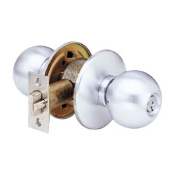 Arrow's H Series Grade 1 cylindrical knob locks have been engineered for years of dependable operation. They're offered in a complete range of functions and finishes and can be purchased with either conventional or SFIC cylinders.