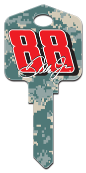 Dale Earnhardt Jr 88 Camouflage key