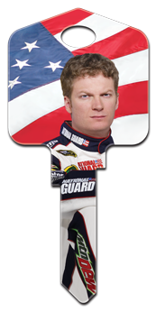 Dale Earnhardt Jr 88 National Guard key